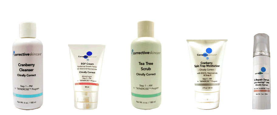 Chirally Correct Skin Care